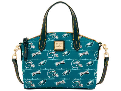 Philadelphia Eagles Dooney & Bourke Nylon Ruby Mini Satchel XBody