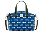 Seattle Seahawks Dooney & Bourke Nylon Ruby Mini Satchel XBody Luggage, Backpacks & Bags