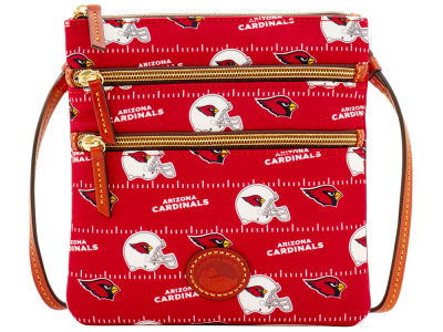 Arizona Cardinals Dooney & Bourke Nylon Triple Zip Crossbody