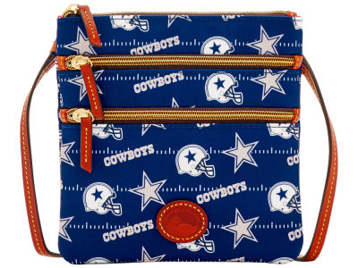 Dallas Cowboys Dooney & Bourke Nylon Triple Zip Crossbody