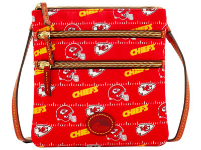 Kansas City Chiefs Dooney & Bourke Nylon Triple Zip Crossbody