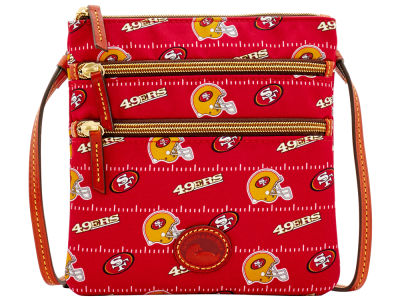 San Francisco 49ers Dooney & Bourke Nylon Triple Zip Crossbody