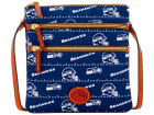 Seattle Seahawks Dooney & Bourke Nylon Triple Zip Crossbody Apparel & Accessories