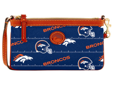 Denver Broncos Dooney & Bourke Nylon Wristlet