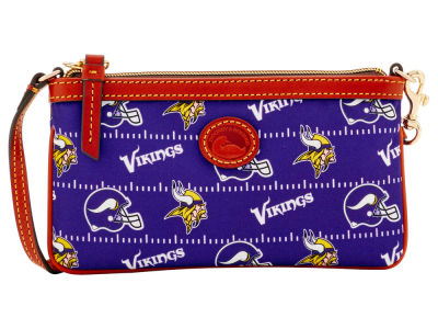 Minnesota Vikings Dooney & Bourke Nylon Wristlet
