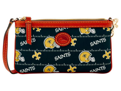 New Orleans Saints Dooney & Bourke Nylon Wristlet