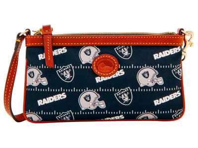 Oakland Raiders Dooney & Bourke Nylon Wristlet