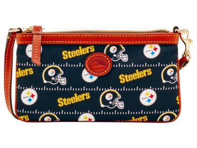 Pittsburgh Steelers Dooney & Bourke Nylon Wristlet