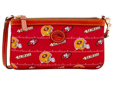 San Francisco 49ers Dooney & Bourke Nylon Wristlet