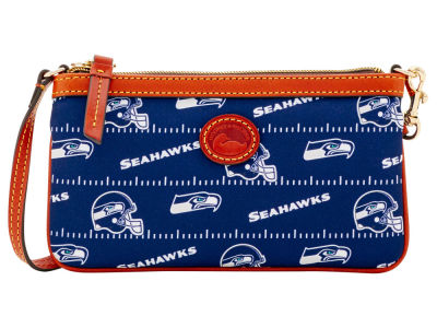 Seattle Seahawks Dooney & Bourke Nylon Wristlet