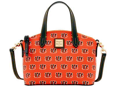 Cincinnati Bengals Dooney & Bourke Ruby Mini Satchel Crossbody