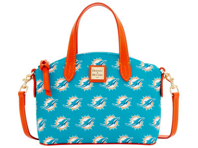 Miami Dolphins Dooney & Bourke Ruby Mini Satchel Crossbody