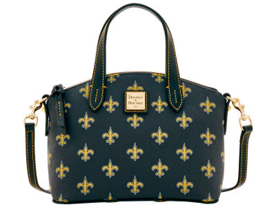 New Orleans Saints Dooney & Bourke Ruby Mini Satchel Crossbody