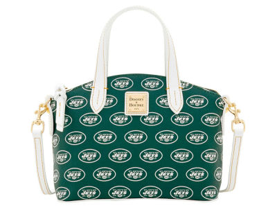 New York Jets Dooney & Bourke Ruby Mini Satchel Crossbody