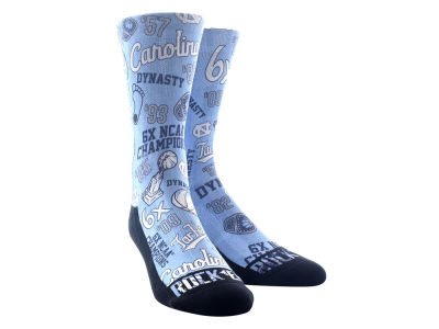 North Carolina Tar Heels Rock 'Em NCAA Champ Crew Socks