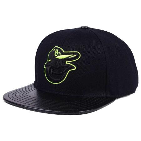Baltimore Orioles Pro Standard MLB Black Volt Strapback Cap