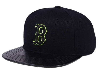 Boston Red Sox Pro Standard MLB Black Volt Strapback Cap