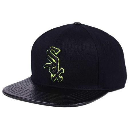 Chicago White Sox Pro Standard MLB Black Volt Strapback Cap