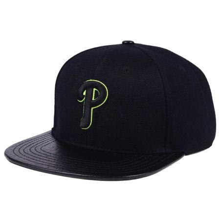 Philadelphia Phillies Pro Standard MLB Black Volt Strapback Cap