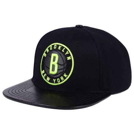 Brooklyn Nets Pro Standard NBA Black Volt Strapback Cap