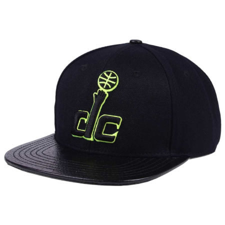 Washington Wizards Pro Standard NBA Black Volt Strapback Cap