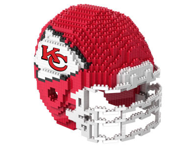 Kansas City Chiefs BRXLZ 3D Helmet Puzzle