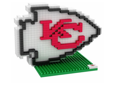 Kansas City Chiefs BRXLZ 3D Logo Puzzle