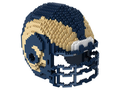 Los Angeles Rams 3D Helmet Puzzle
