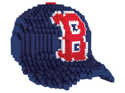Boston Red Sox BRXLZ 3D Baseball Cap Puzzle