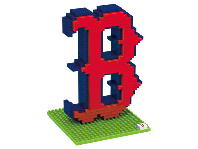 Boston Red Sox BRXLZ 3D Logo Puzzle