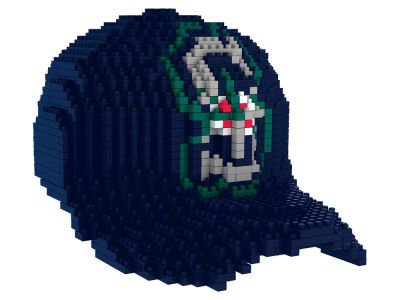 Seattle Mariners BRXLZ 3D Baseball Cap Puzzle