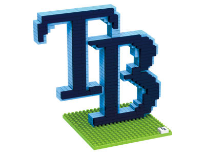 Tampa Bay Rays BRXLZ 3D Logo Puzzle