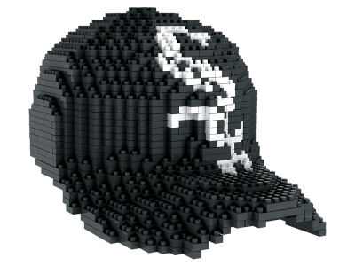 Chicago White Sox BRXLZ 3D Baseball Cap Puzzle
