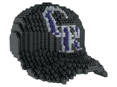 Colorado Rockies BRXLZ 3D Baseball Cap Puzzle