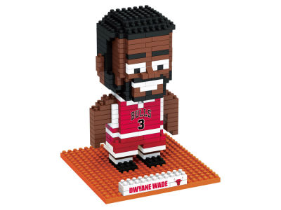 Chicago Bulls Dwyane Wade BRXLZ 3D Player Puzzle