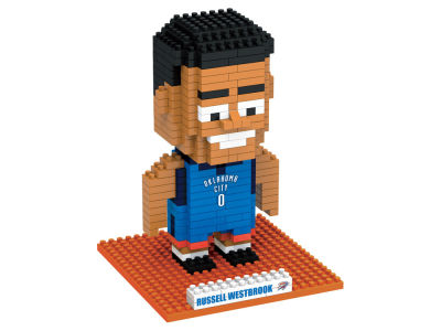 Oklahoma City Thunder Russell Westbrook BRXLZ 3D Player Puzzle