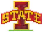 Iowa State Cyclones Forever Collectibles 3D Brxlz- Logo Toys & Games
