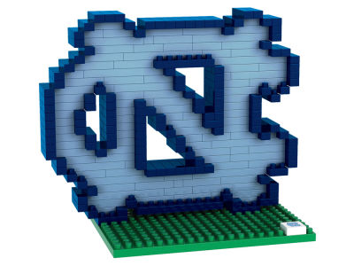 North Carolina Tar Heels BRXLZ 3D Brxlz- Logo