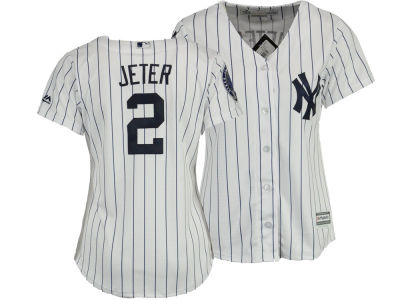 New York Yankees Derek Jeter Majestic MLB Women's Player Cool Base Jersey