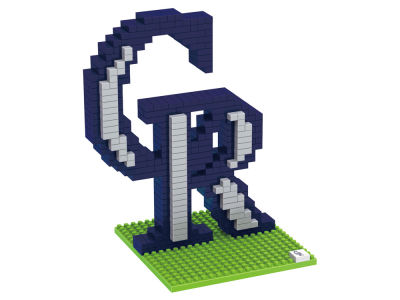Colorado Rockies 3D Brxlz- Logo