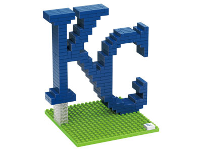 Kansas City Royals BRXLZ 3D Logo Puzzle