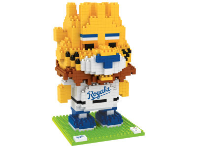 Kansas City Royals BRXLZ 3D Mascot puzzle