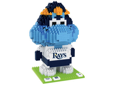 Tampa Bay Rays BRXLZ 3D Mascot puzzle