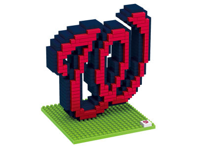 Washington Nationals BRXLZ 3D Brxlz- Logo