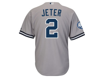 New York Yankees Derek Jeter Majestic MLB Men's Commemorative Player CB Jersey