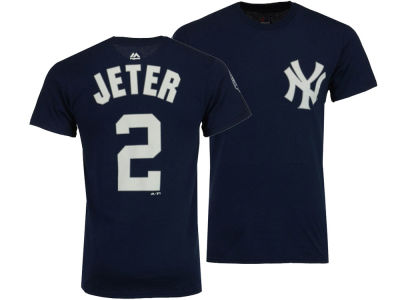 New York Yankees Derek Jeter Majestic MLB Men's Commemorative Player T-Shirt