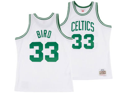 e00d21733 Boston Celtics Larry Bird Mitchell   Ness NBA Men s Hardwood Classic  Swingman Jersey