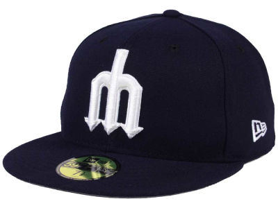 Seattle Mariners New Era MLB Custom Color 59FIFTY Cap