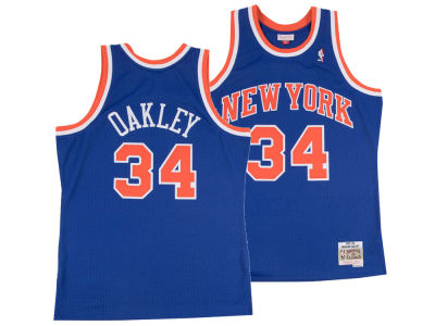 New York Knicks Charles Oakley Mitchell & Ness NBA Men's Hardwood Classic Swingman Jersey