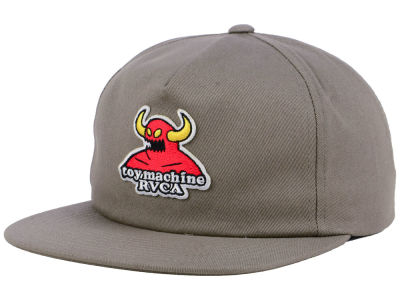 RVCA Toy Machine Snapback Cap